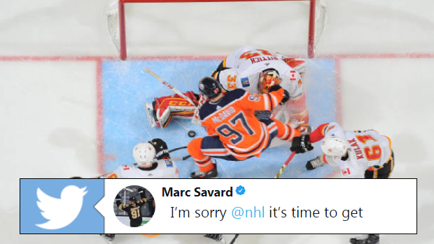 Marc Savard Ripped The Nhl After Last Night S Controversial Goalie