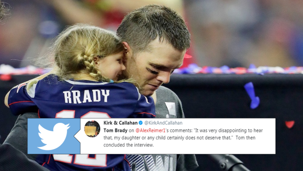 Tom Brady Hangs Up On A Radio Interview In Boston After