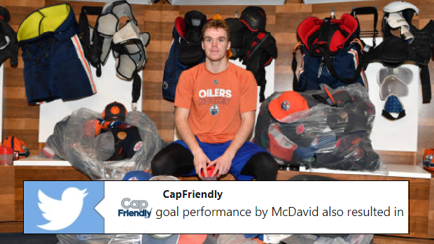 McDavid made a ridiculous amount of money thanks to his 5 point ... 8b2309dea70