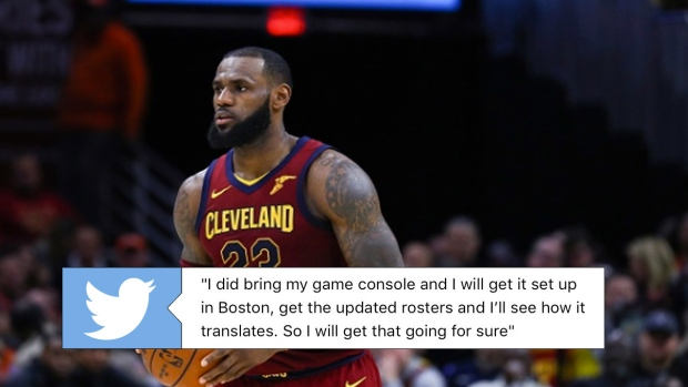10f6f6e98d6a LeBron James turns to NBA 2K once again to figure out how to play ...