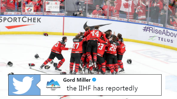 Canada captures gold at the 2018 IIHF world Junior Championship.